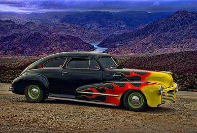 Photograph - 1948 Pontiac Silver Streak by Tim McCullough
