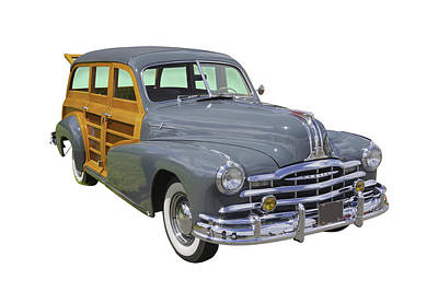 Photograph - 1948 Pontiac Silver Streak Woody by Keith Webber Jr