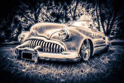 1949 Buick Eight Super Art Print by motography aka Phil Clark