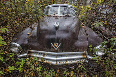 Cadilac Photograph - 1949 Cadillac by Debra and Dave Vanderlaan