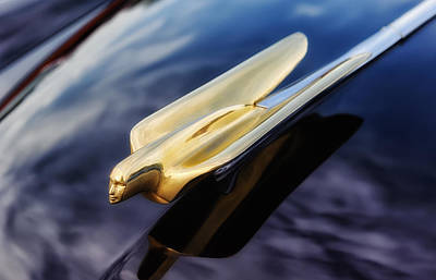 Photograph - 1949 Cadillac Goddess Hood Ornament  -  Cadl by Frank J Benz
