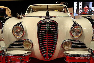 Delahaye Photograph - 1949 Delahaye Type 175 Coupe De Ville 5d26672 by Wingsdomain Art and Photography