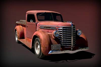 Photograph - 1949 Diamond Reo Pickup by Tim McCullough