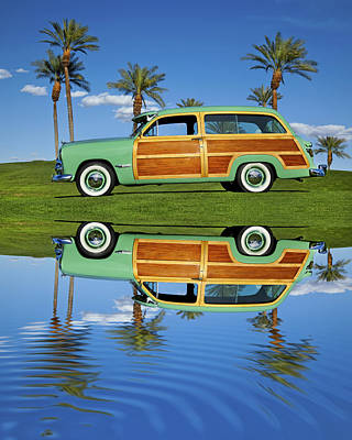 Robert Jensen Photograph - 1949 Ford Woodie by Robert Jensen