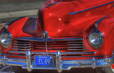 Photograph - 1949 Hudson Truck 2 by Donna Kennedy