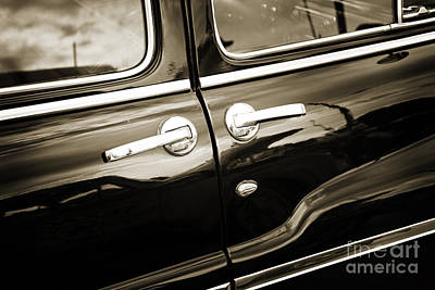 Photograph - 1949 Mercury Classic Car Suicide Doors In Sepia 3201.01 by M K Miller