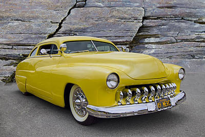Mercury Hot Rod Photograph - 1949 Mercury Coupe by Debra and Dave Vanderlaan