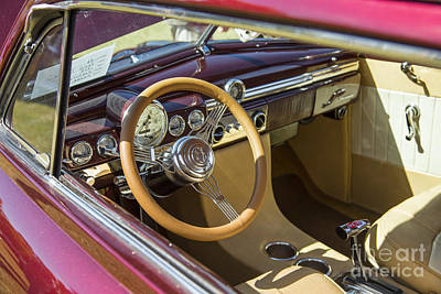 1949 Mercury Coupe Interior Color 3037.02 Print by M K  Miller
