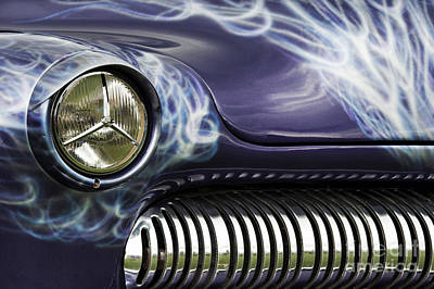 Customized Photograph - 1949 Mercury Eight Hot Rod by Tim Gainey