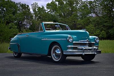 Photograph - 1949 Plymouth Special Deluxe Convertible by Tim McCullough