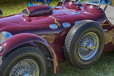 Photograph - 1950 Allard J2 Competition Roadster by Jack R Perry