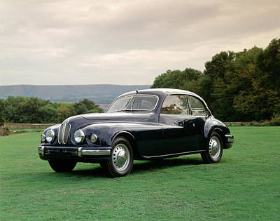 Historic Car Photograph - 1950 Bristol 401 2.0 Litre. 2-door by Panoramic Images