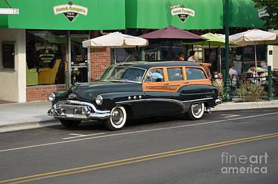 Photograph - 1950 Buick Super Estate Wagon by Bob Sample