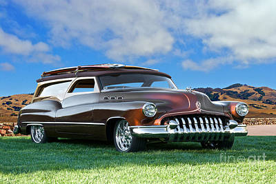 When Life Gives You Lemons - 1950 Buick Woody Wagon 1 by Dave Koontz