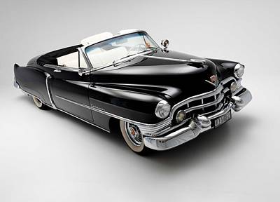Old Hotrod Photograph - 1950 Cadillac Convertible by Gianfranco Weiss