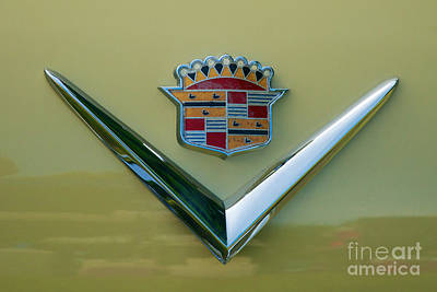 Photograph - 1950 Cadillac Coupe De Ville Hood Ornament by Mark Dodd