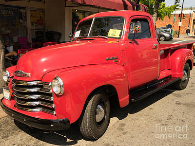 Photograph - 1950 Chevrolet 3600 Truck Dsc1458 by Wingsdomain Art and Photography