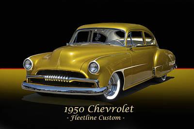 1950 Chevrolet Fleetline I Art Print by Dave Koontz