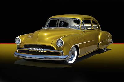 1950 Chevrolet Fleetline II Art Print by Dave Koontz