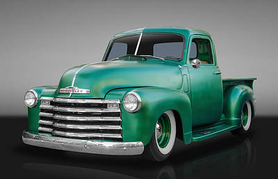1950 Chevrolet Pickup Truck Art Print by Frank J Benz