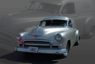 Photograph - 1950 Chevrolet Sedan Delivery by Tim McCullough