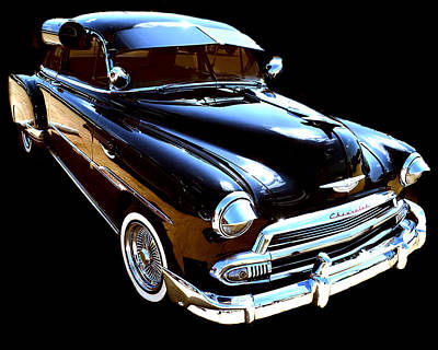 Photograph - 1950 Chevy by Brad Thornton