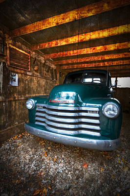1950 Chevy Truck Art Print by Debra and Dave Vanderlaan