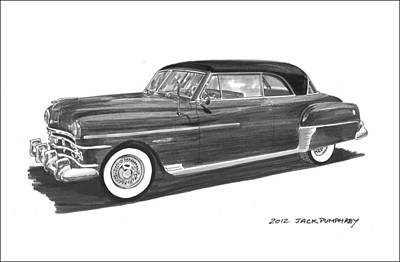 1950 Chrysler Newport Art Print by Jack Pumphrey