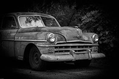 Photograph - 1950 Chrysler Windsor by Kathleen Scanlan
