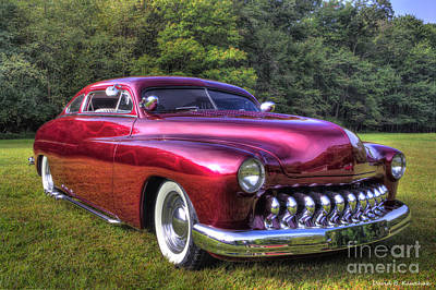 1950 Custom Mercury Print by David B Kawchak Custom Classic Photography
