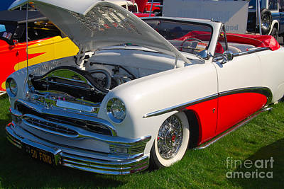 Photograph - 1950 Ford Convertible by Mark Spearman