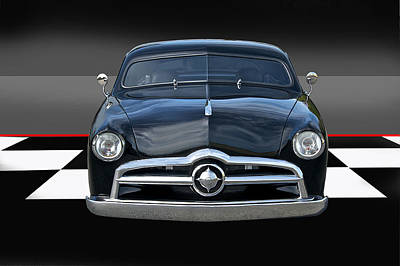 1950 Ford Custom I Art Print by Dave Koontz