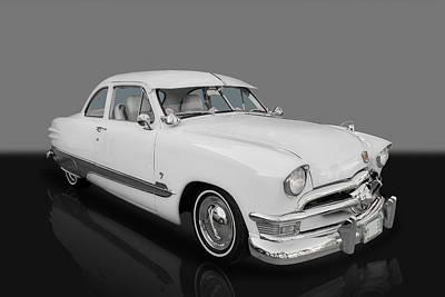 1950 Ford Custom V8 Art Print by Frank J Benz