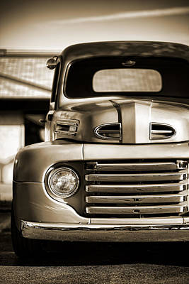 Photograph - 1950 Ford F-100 by Gordon Dean II