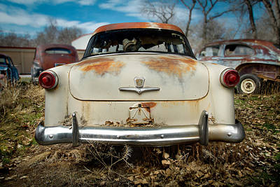 Photograph - 1950 Ford Sedan Rear by Yo Pedro
