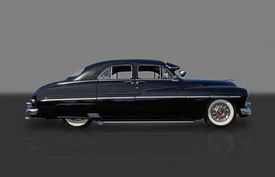 Photograph - 1950 Mercury 4 Door by Frank J Benz