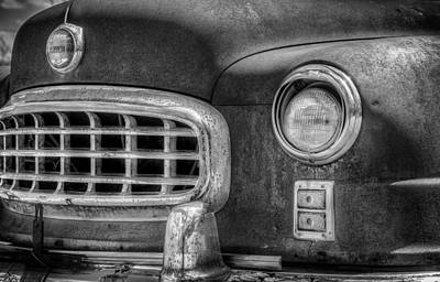 Rusty Photograph - 1950 Nash Statesman by Scott Norris