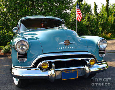 Photograph - 1950 Oldsmobile by John Waclo