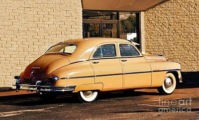 Photograph - 1950 Packard In Sepia by Janette Boyd
