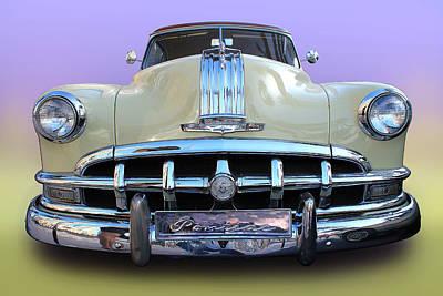 Photograph - 1950 Pontiac Chieftain Silver Streak by Radoslav Nedelchev
