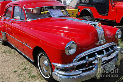Photograph - 1950 Pontiac Chieftan by Mark Spearman