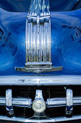Photograph - 1950 Pontiac Hood Ornament - Emblem by Jill Reger