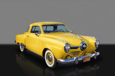 Photograph - 1950 Studebaker Champion by Frank J Benz