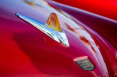 Photograph - 1950 Studebaker Champion Hood Ornament -1320c by Jill Reger