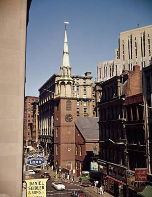 1950s 1960s Old South Meeting House Art Print
