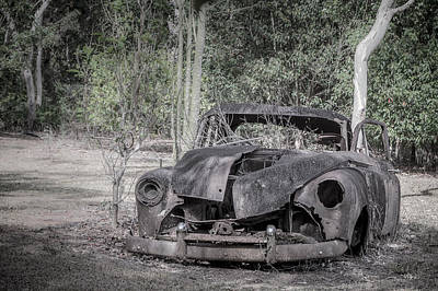 Photograph - 1950s Classic Holden Ute by Silken Photography