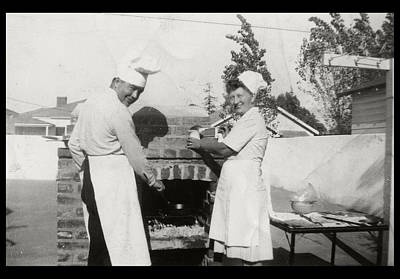 Photograph - 1950's Cooking In America by Kristina Deane