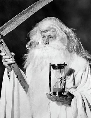 1950s Costume Elderly Man Long Beard Art Print