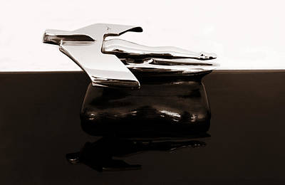 Photograph - 1950s Nash Hood Ornament 2 by Marilyn Hunt