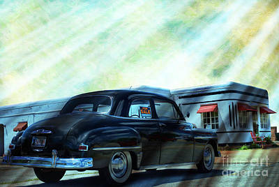Photograph - 1950's Plymouth Special Deluxe by Liane Wright